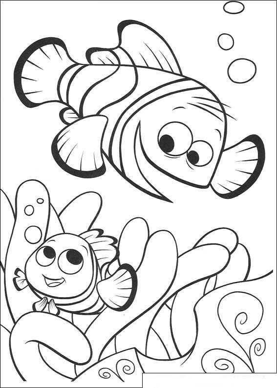Kleurplaat Finding Nemo De Film Nemo En Marlin Terug In Het Koraal Gratis Kleurplaten Kleurplaten Kleurboek
