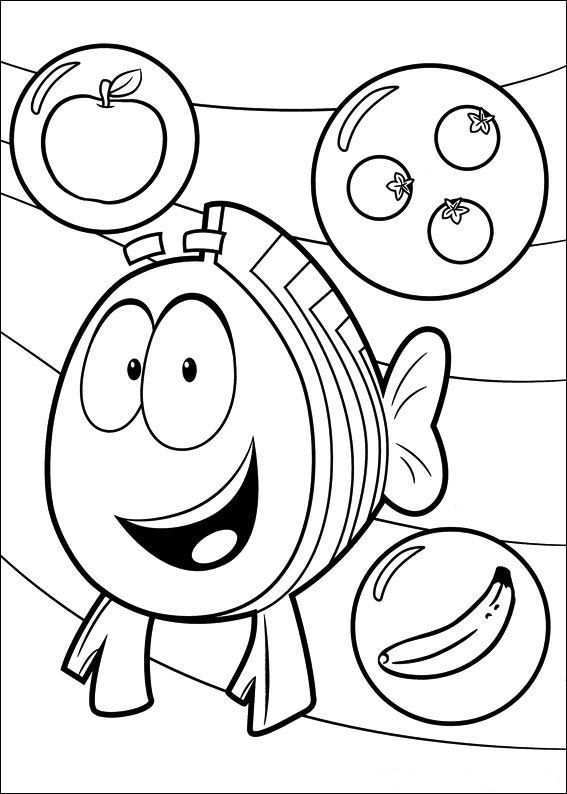 Kids N Fun Coloring Page Bubble Guppies Bubble Guppies Bubble Guppies Coloring Pages Coloring Books Nick Jr Coloring Pages