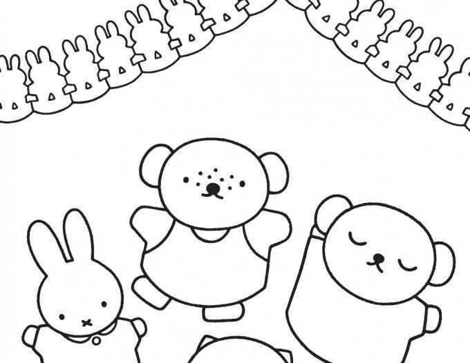 Nijntje Kleurplaat Hobby Blogo Nl Kleurplaten Kleurplaten Voor Kinderen Bijbel Knutselen