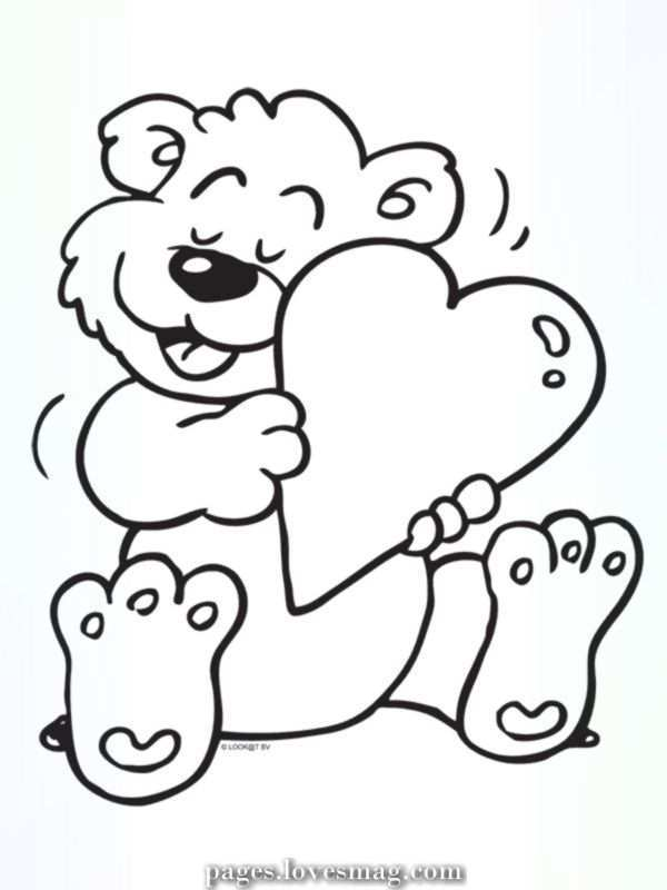 Charismatic Coloring Web Page Love Valentines Day February Kleurplaten Nl Valentine Coloring Pages Valentines Day Coloring Page Bear Coloring Pages