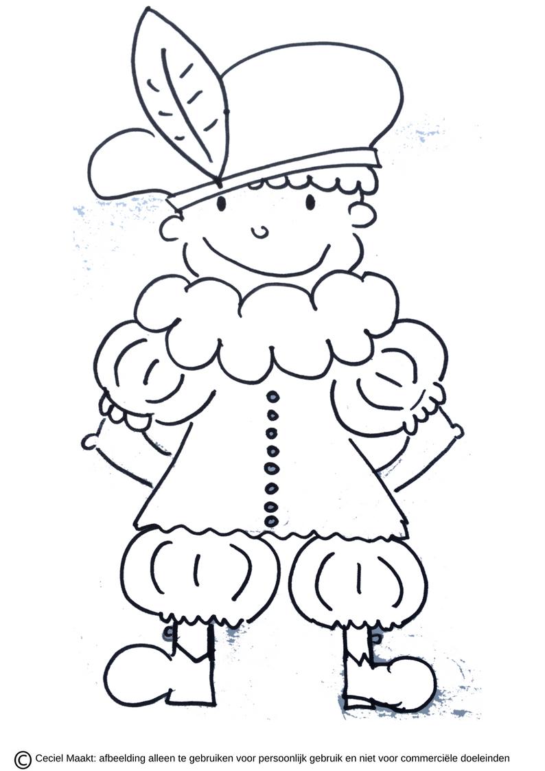 Gratis Te Printen Slabloon Krijtstifttekening Raamtekening Voor Piet Sinterklaas Freebie Cecielmaa Knutselen Sinterklaas Sinterklaas Kinderkleurplaten