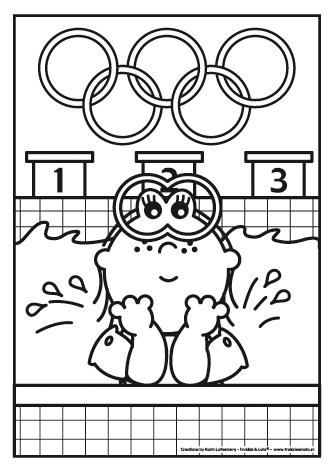 Frokkie En Lola Kleurplaat Olympische Spelen Olympische Spelen Spel Olympische Sport