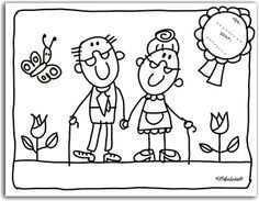 Kleurplaten Knutselen Opa En Oma Knutselen Voor Opa Kleurboek