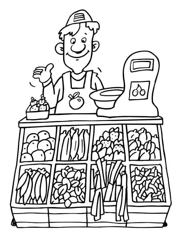 Kids N Fun Com Professions Coloring Pages Art For Kids Color