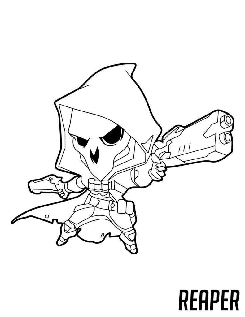 Overwatch Coloring Pages Best Coloring Pages For Kids Coloring Pages For Kids Bee Coloring Pages Coloring Pages