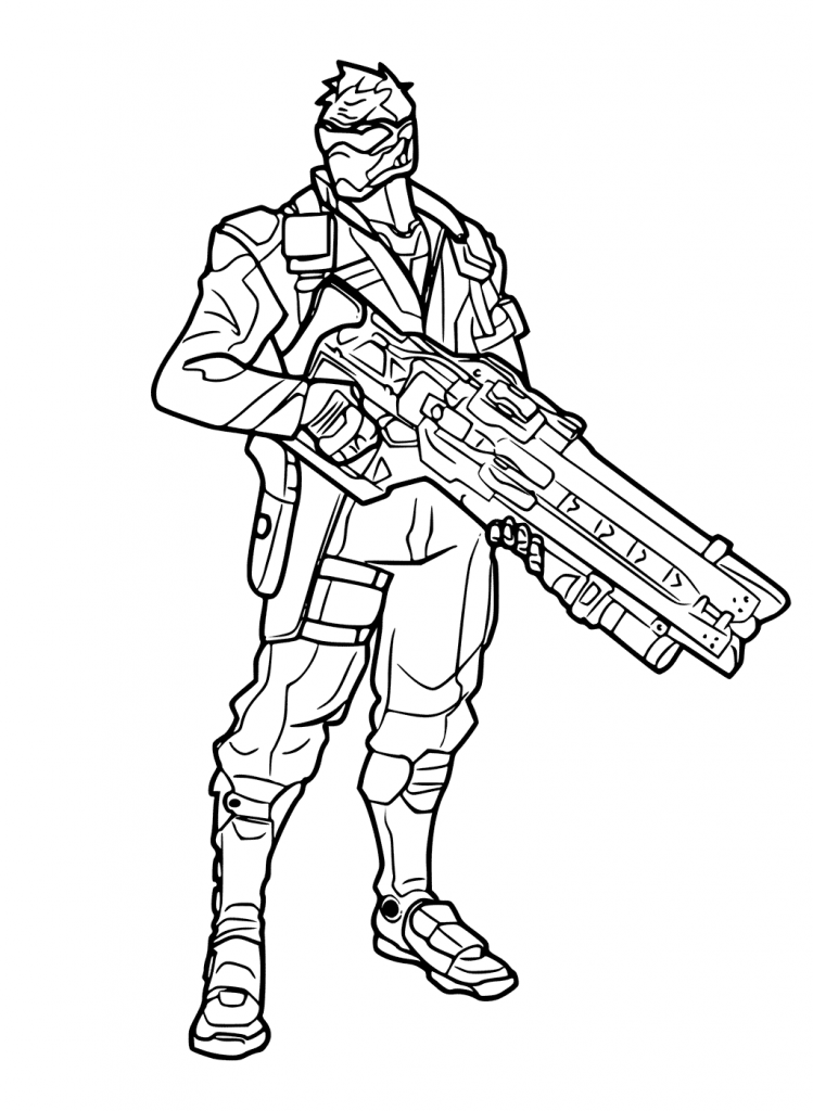 Overwatch Coloring Pages Best Coloring Pages For Kids Coloring Pages Coloring Pages For Kids Overwatch