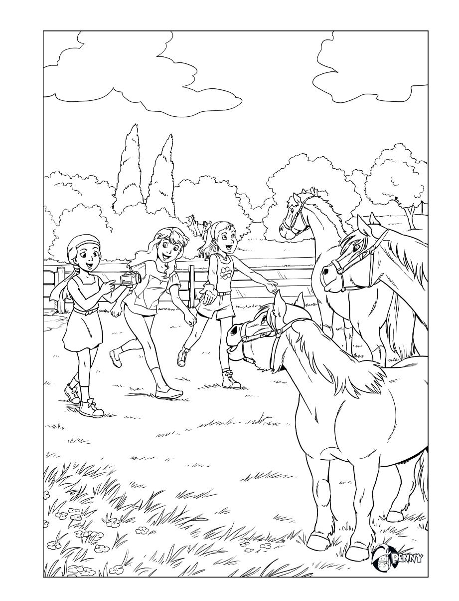 Penny Kleurplaat Kleurplaten Dieren Kleurplaten Paarden