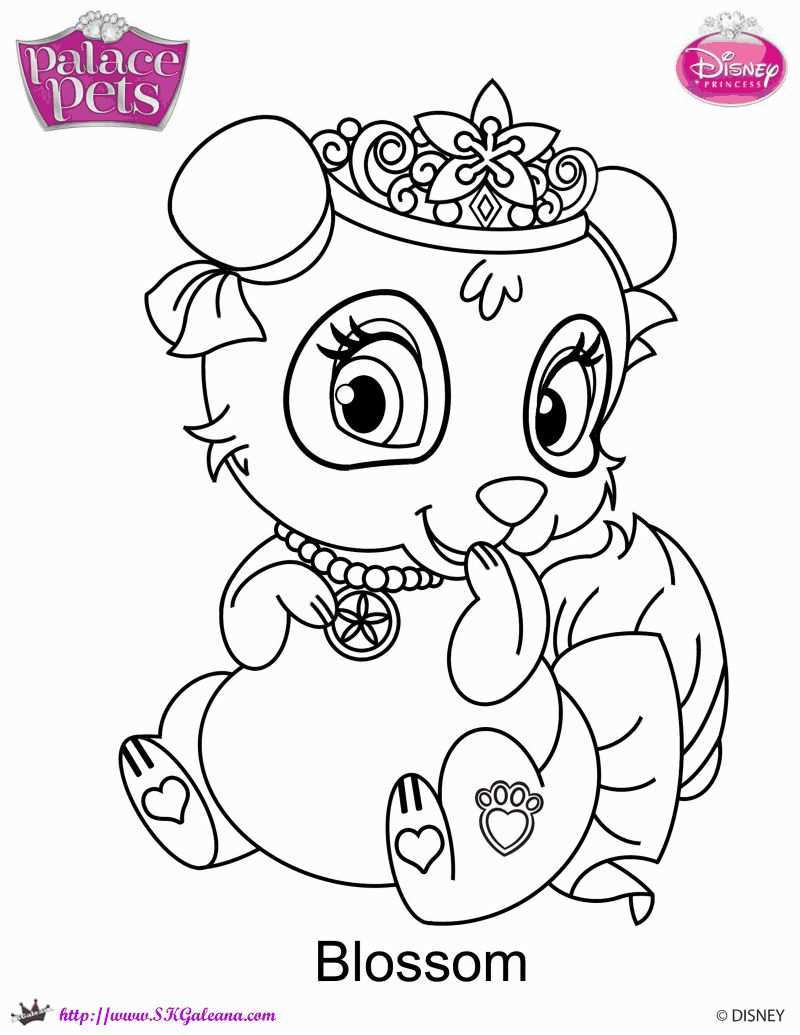 Pin By Jeanet On Kleurplaten Free Coloring Pages Palace Pets Disney Coloring Pages