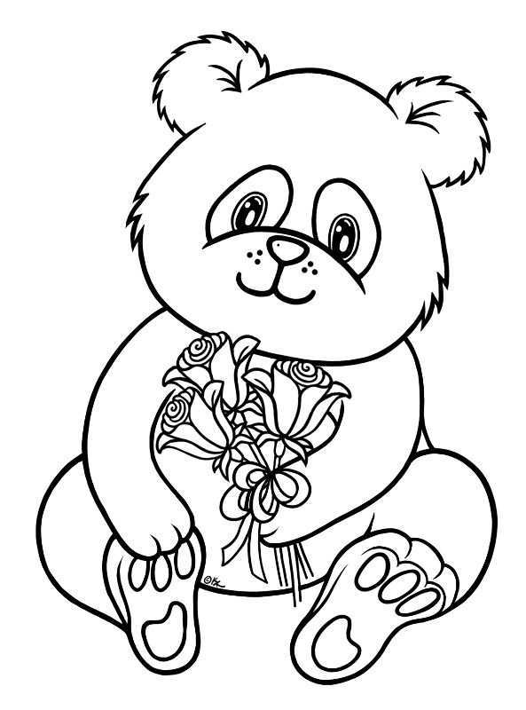دب الباندا للتلوين חיפוש ב Google Dieren Kleurplaten Mandala Kleurplaten Kleurplaten