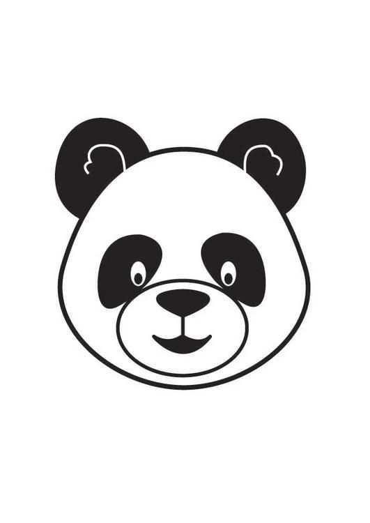 Coloriage Tete De Panda Images Pour L Ecoles Et L Education Dessins Et Photos Educatives Ressources Pedagogiques Coloriage Panda Art De Panda Panda Dessin