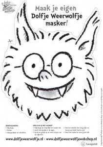 Dolfje Weerwolfje Door Paul Van Loon Kinderboekenjuf Nl Knutselen Voor Halloween Griezelig Kleurplaten