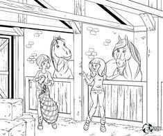 Penny Kleurplaat Kleurplaten Leuke Weetjes Paarden