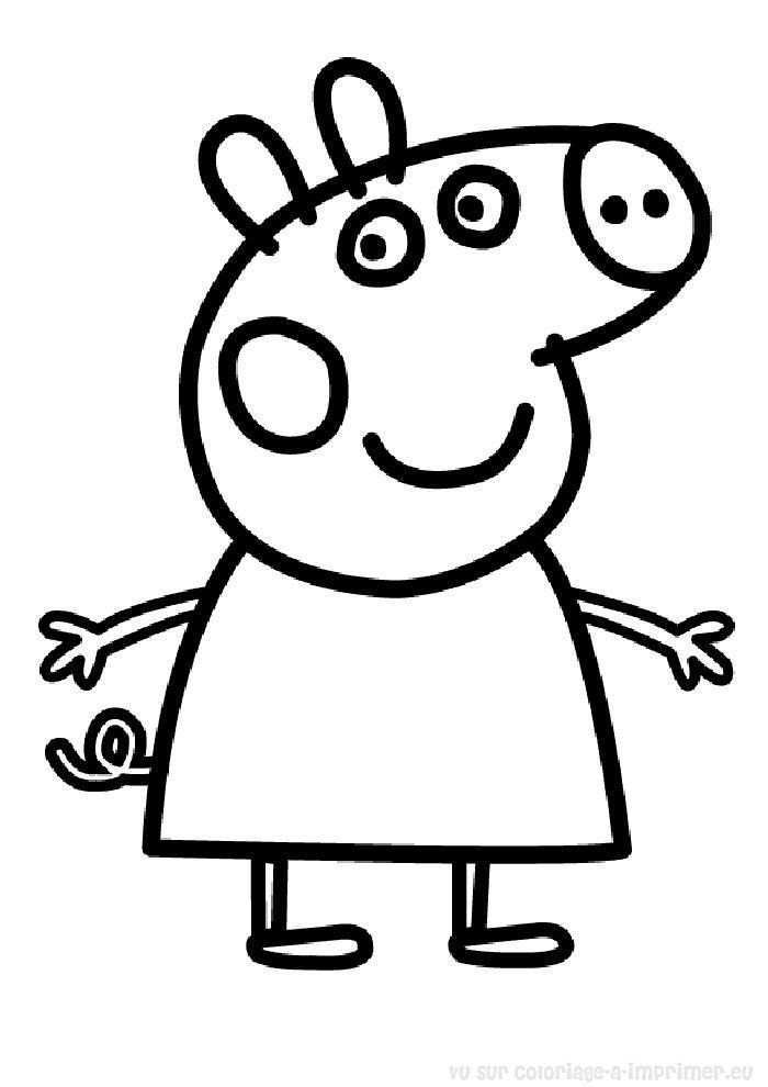 Cool 14 Picture Peppa Pig A Imprimer In 2020 Kleurplaten Kinderen
