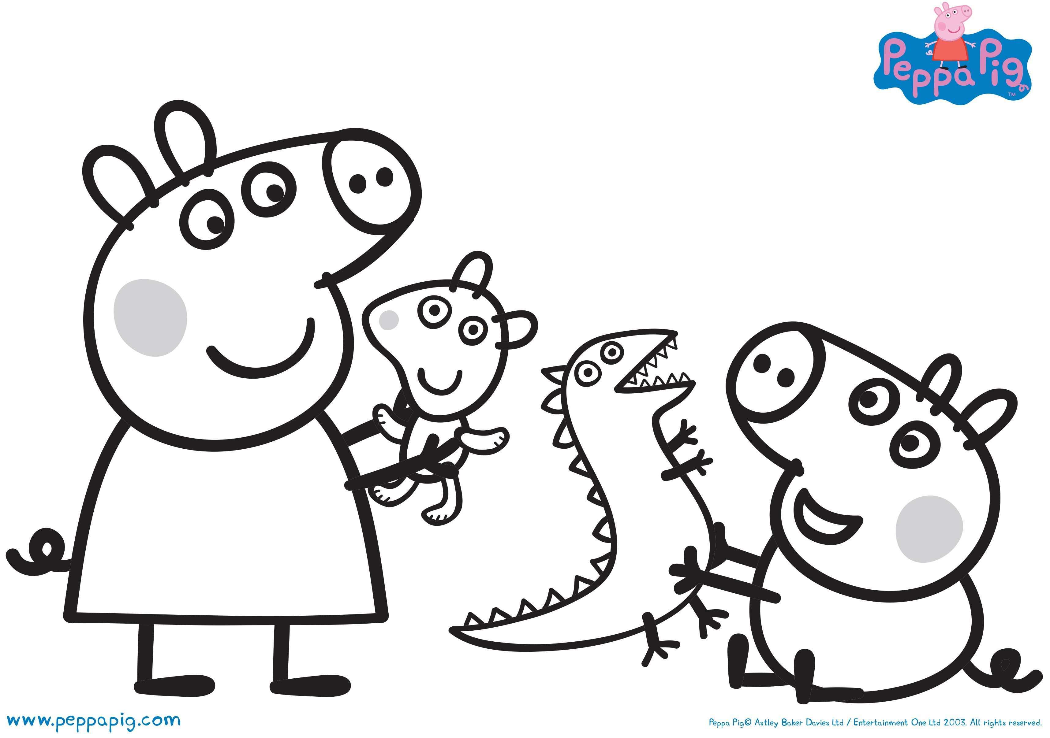 3431x2413 Download Fun Activities And Color Ins To Print Out And Play With Peppa Pig Coloring Pages Peppa Pig Colouring Peppa Pig Pictures