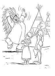 Afbeeldingsresultaat Voor Kleurplaten Peter Pan Ausmalbilder Ausmalen Indianer