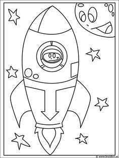 Planeten Kleurplaat Google Zoeken Space Activities For Kids Space Coloring Sheet Space Theme
