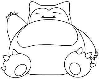 How To Draw Snorlax Draw Central Pokemon Coloring Pages Pokemon Coloring Pokemon Sketch