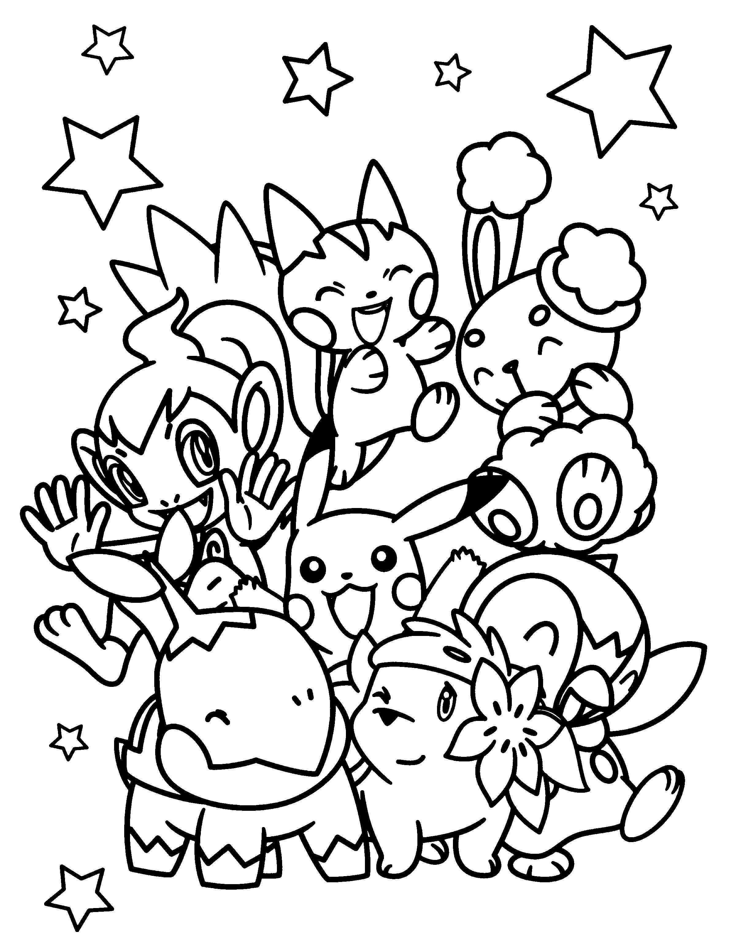 Kleurplaat Wat Een Pokemons Gratis Kleurplaten Kleurplaten Pokemon