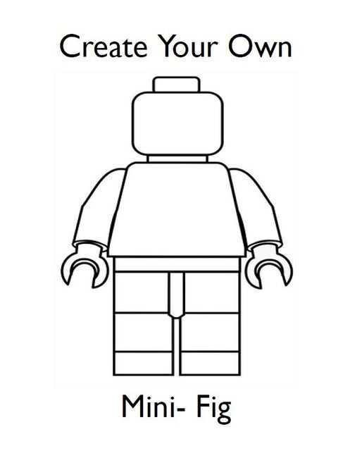 Draw Your Own Lego Minifigures Lego Games Lego Poppetje Lego Kleurplaten Lego