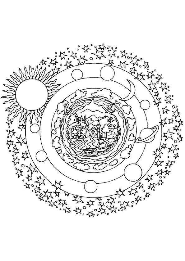 Kleurplaat Mandala Kleurplaten 5166 Mandala Kleurplaten Kleurplaten Mandala