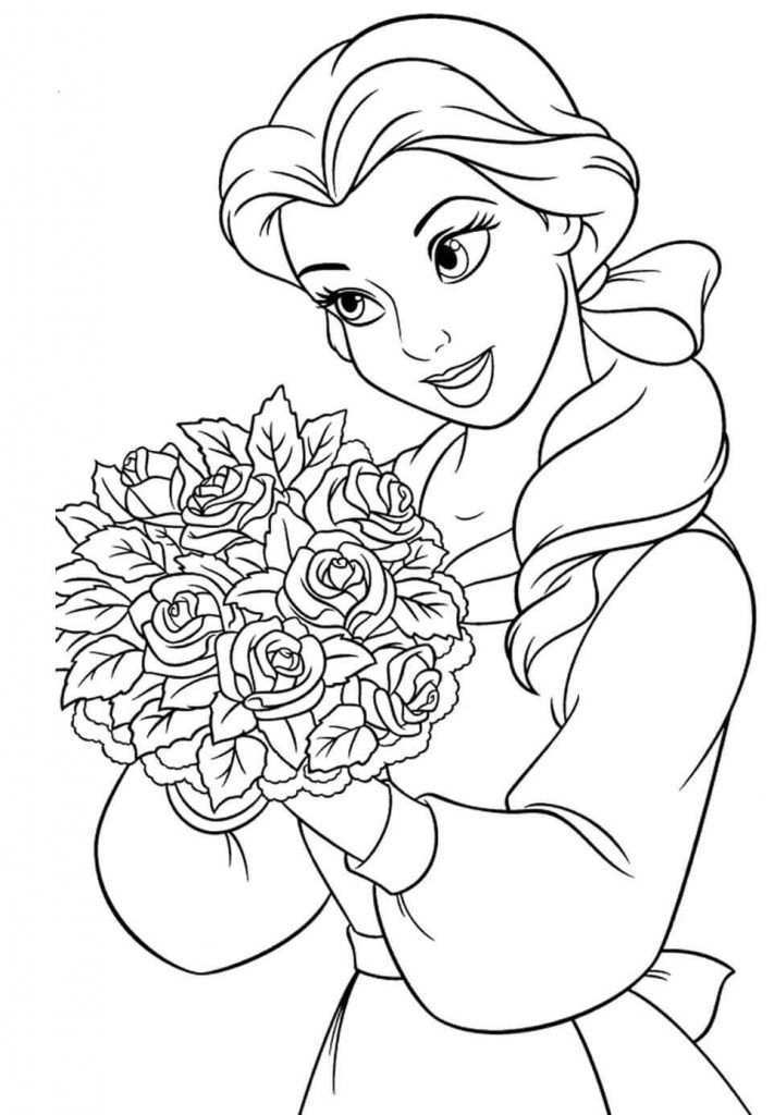 Color By Number Printables Coloring Rocks Disney Princess Coloring Pages Belle Coloring Pages Barbie Coloring Pages