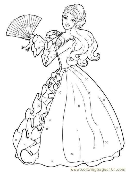 Top 50 Free Printable Barbie Coloring Pages Online Barbie Coloring Pages Disney Princess Coloring Pages Barbie Coloring