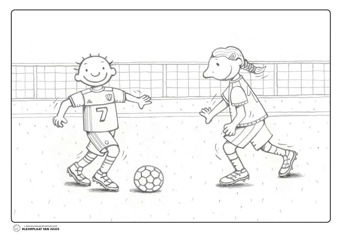 Voetbal Jules Voetbal Voetbal Knutselen Voetballen