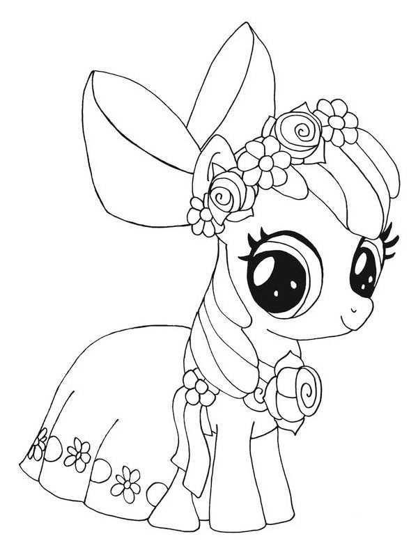 Kleurplaat My Little Pony Tiara Unicornio Pintar Unicornios Para Dibujar Paginas Para Colorear Para Ninos