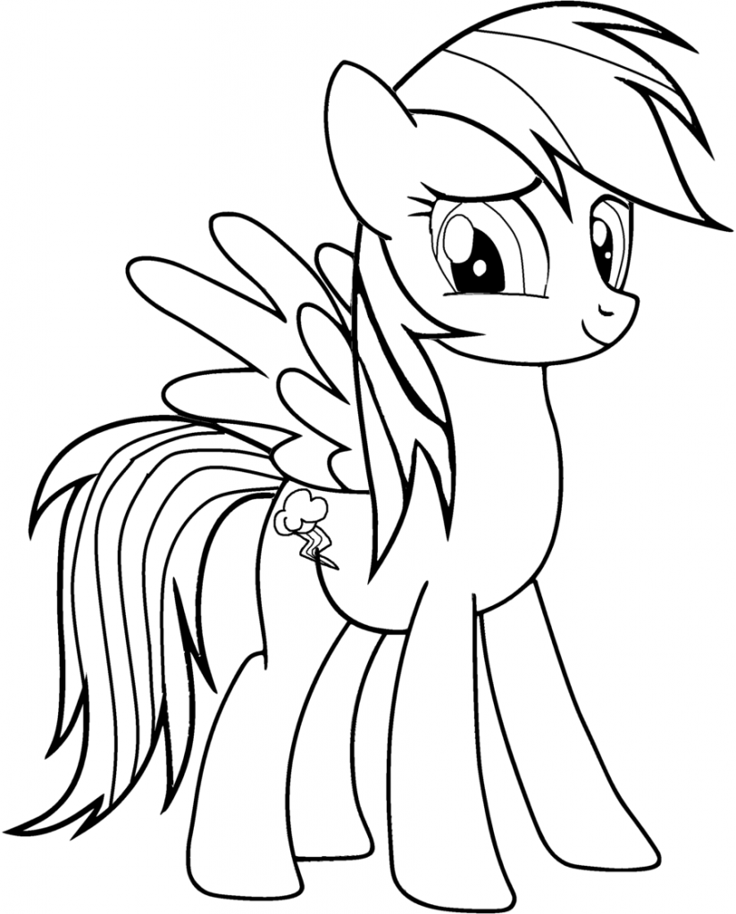 Rainbow Dash Coloring Pages Best Coloring Pages For Kids Horse Coloring Pages My Little Pony Coloring Unicorn Coloring Pages