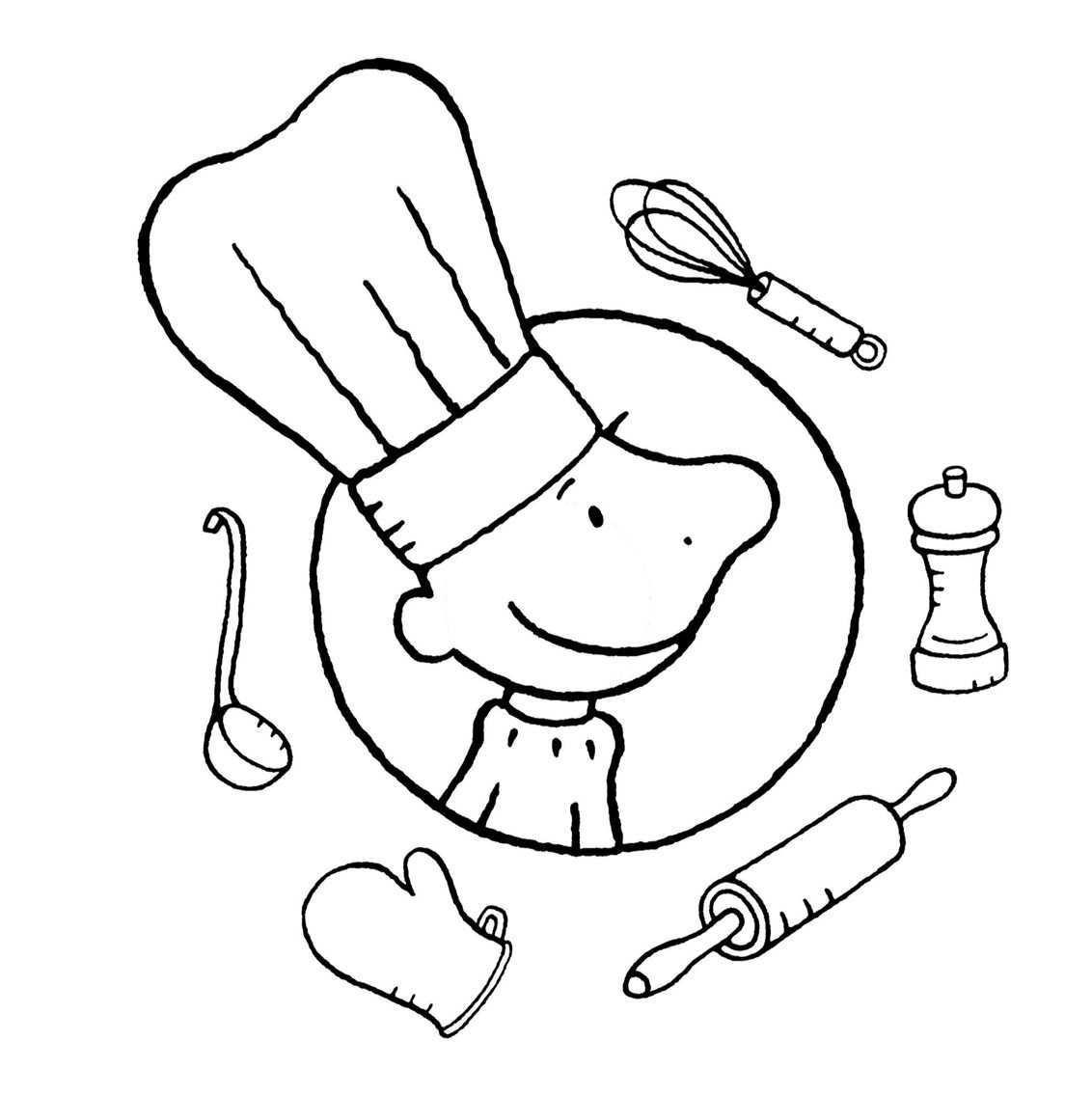 Kleurplaat Jules Koken Koken Voor Kinderen Restaurant Eten Koken Met Kinderen