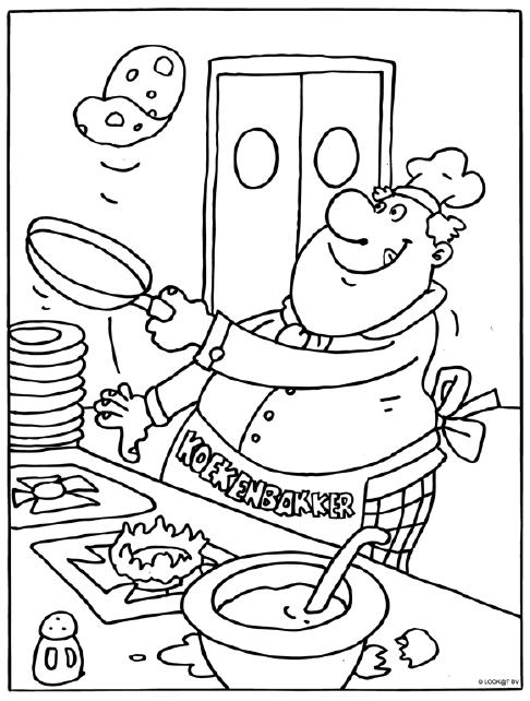 Pannenkoekenbakken Pannenkoeken Pannenkoekendag Restaurant Eten