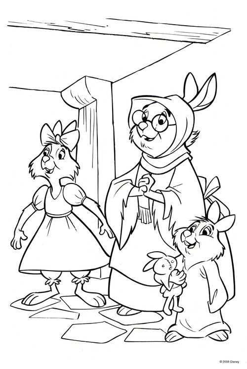 Robin Hood Coloring Page Disney Coloring Pages Horse Coloring Pages Tangled Coloring Pages