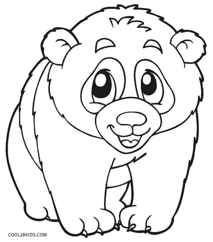 Free Printable Panda Coloring Pages For Kids In 2020 Panda Coloring Pages Animal Coloring Pages Coloring Pages
