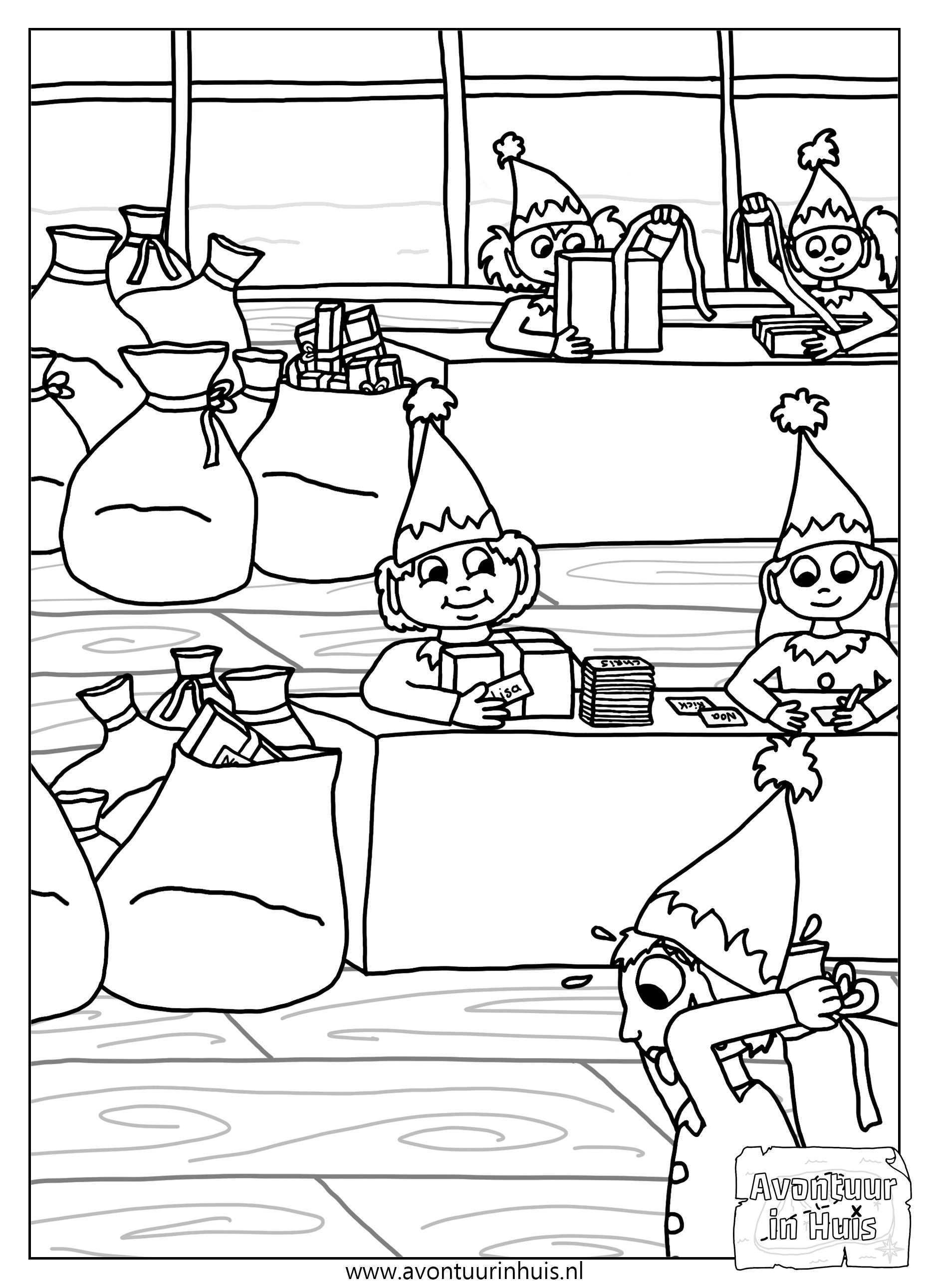 Kleurplaten Activiteitenpagina S Kleurplaten Voor Kinderen Kleurplaten Kerstmis Kleur