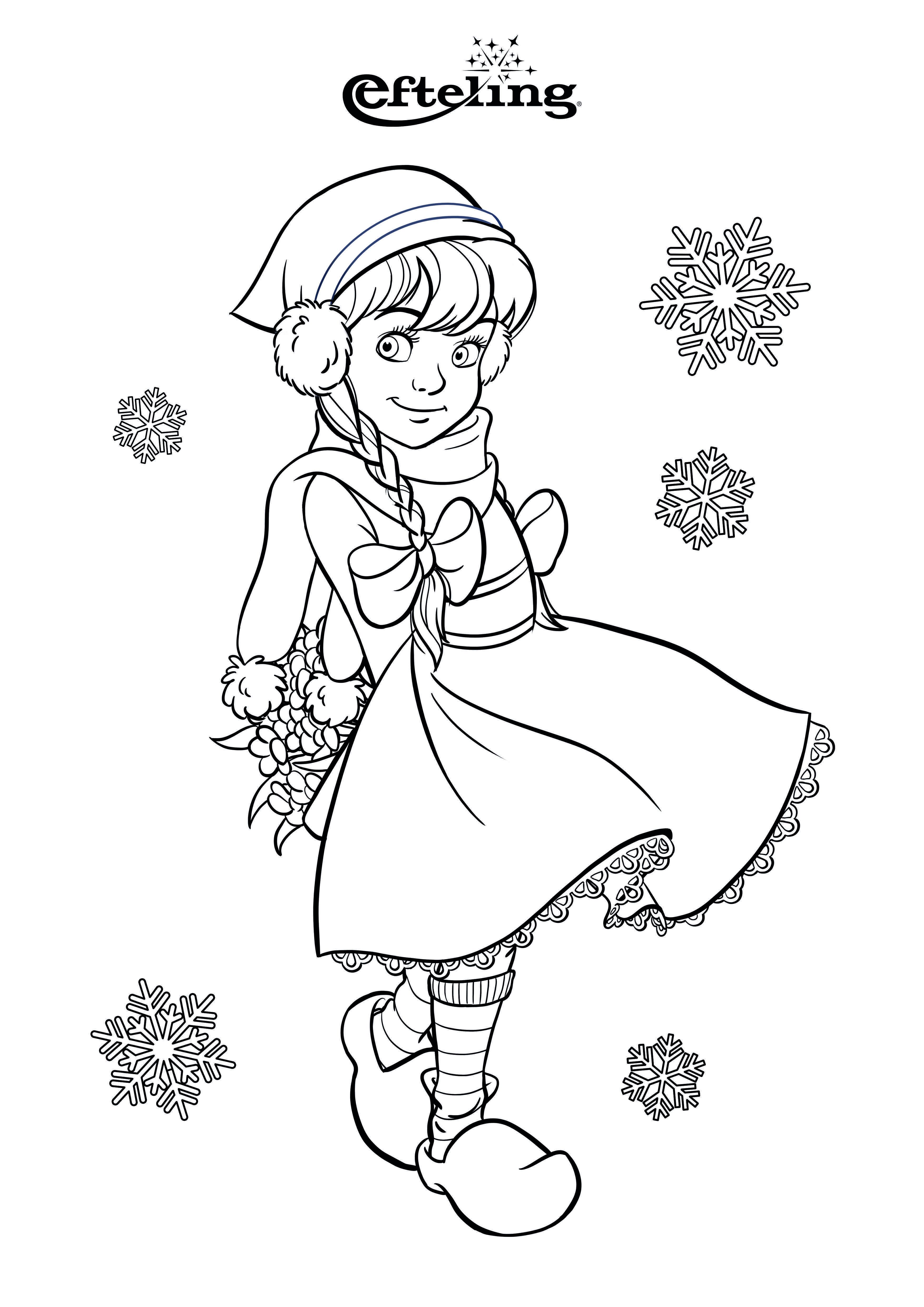 Efteling Kleurplaat Winter Roodkapje Fairy Tales Theme Buy Tickets
