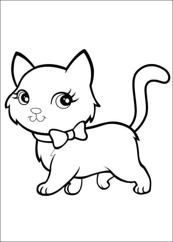 Polly Pocket Kleurplaten 33 Dieren Kleurplaten Kleurplaten Voor Kinderen Katten Tekening