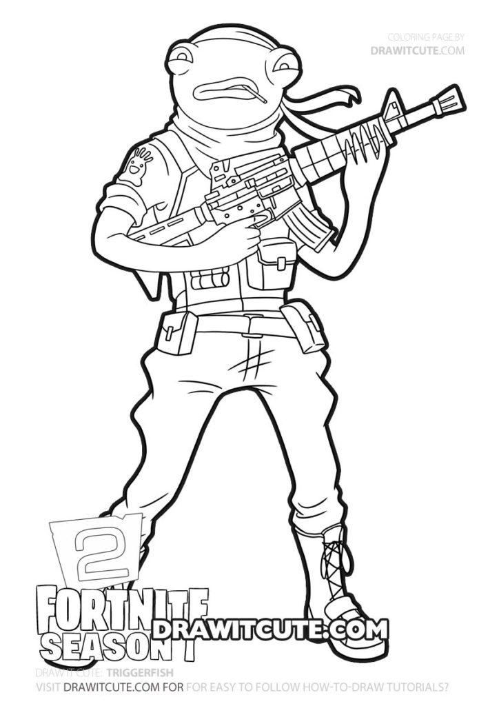 How To Draw Triggerfish Fortnite Chapter 2 Draw It Cute Fortnitepc Fortnitecommunity Fort Superhero Coloring Cute Coloring Pages Coloring Pages For Boys