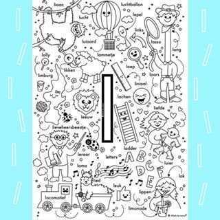 Sanne Anneveldt Liefs By Sanne Instagram Foto S En Video S Alfabet Kleurplaten Alfabet Boek Kleuterschool Taal