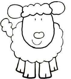 Kleurplaat Schaap Google Zoeken Animal Coloring Pages Sheep Crafts Farm Animal Coloring Pages