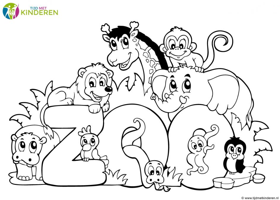 Kinderen Kleurplaten Dieren Leukste Voor Kids Kleurplaat Baby Schattige Van Kleurplaat Baby Dieren Dieren Kleurplaten Dieren Wilde Dieren