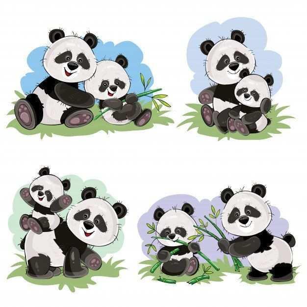Pin Ot Polzovatelya Jessika De Maeyer Na Doske Tekenen Detenysh Pandy Panda Multfilmy