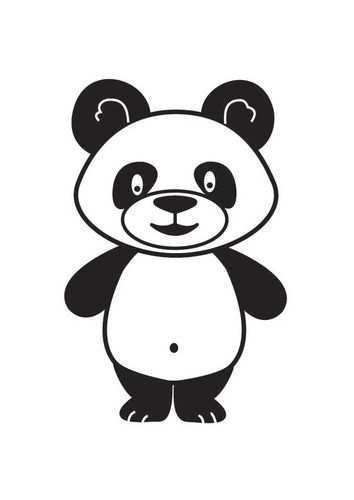 Kleurplaat Panda Afb 18003 Kleurplaten Dieren Kleurplaten Pandaberen