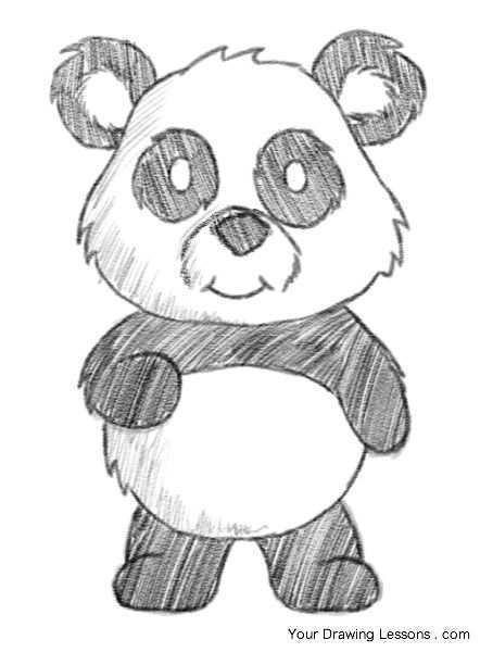 Panda Favorite Animal Ideas Dieren Tekenen Panda Tekening Tekenen