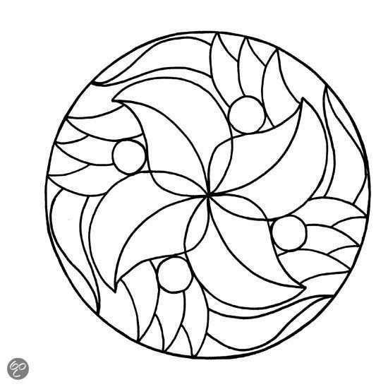 Pin Van Anna Catharina Op Mandala S Om In Te Kleuren Mandalas For Coloring By Anneke Huyser Mandala Kleurplaten Mandala Kleurplaten