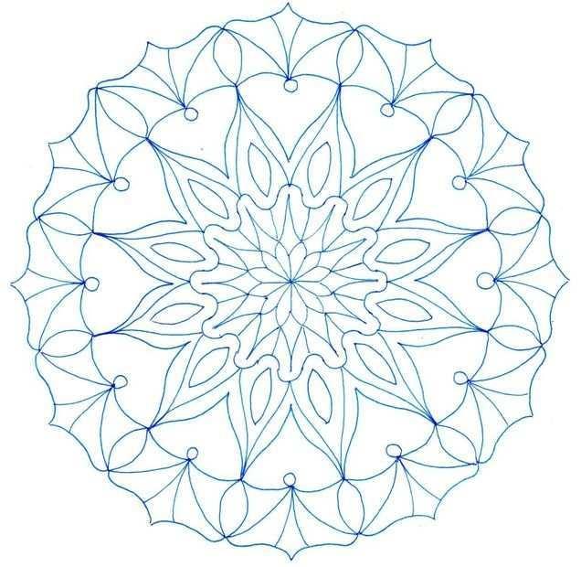 Mandala Kleurplaat Mandala Kleurplaten Kleurplaten Mandala