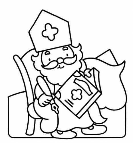 Kleurplaten Peuters Kleurplaten Sinterklaas Kleurplaten Knutselen Sinterklaas