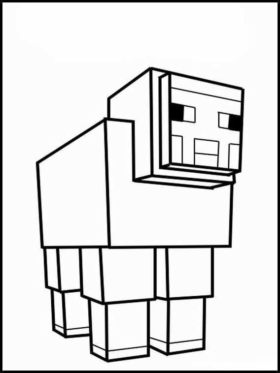 Minecraft 17 Dibujos Faciles Para Dibujar Para Ninos Colorear Minecraft Imprimibles Imagenes De Minecraft Paginas Para Colorear