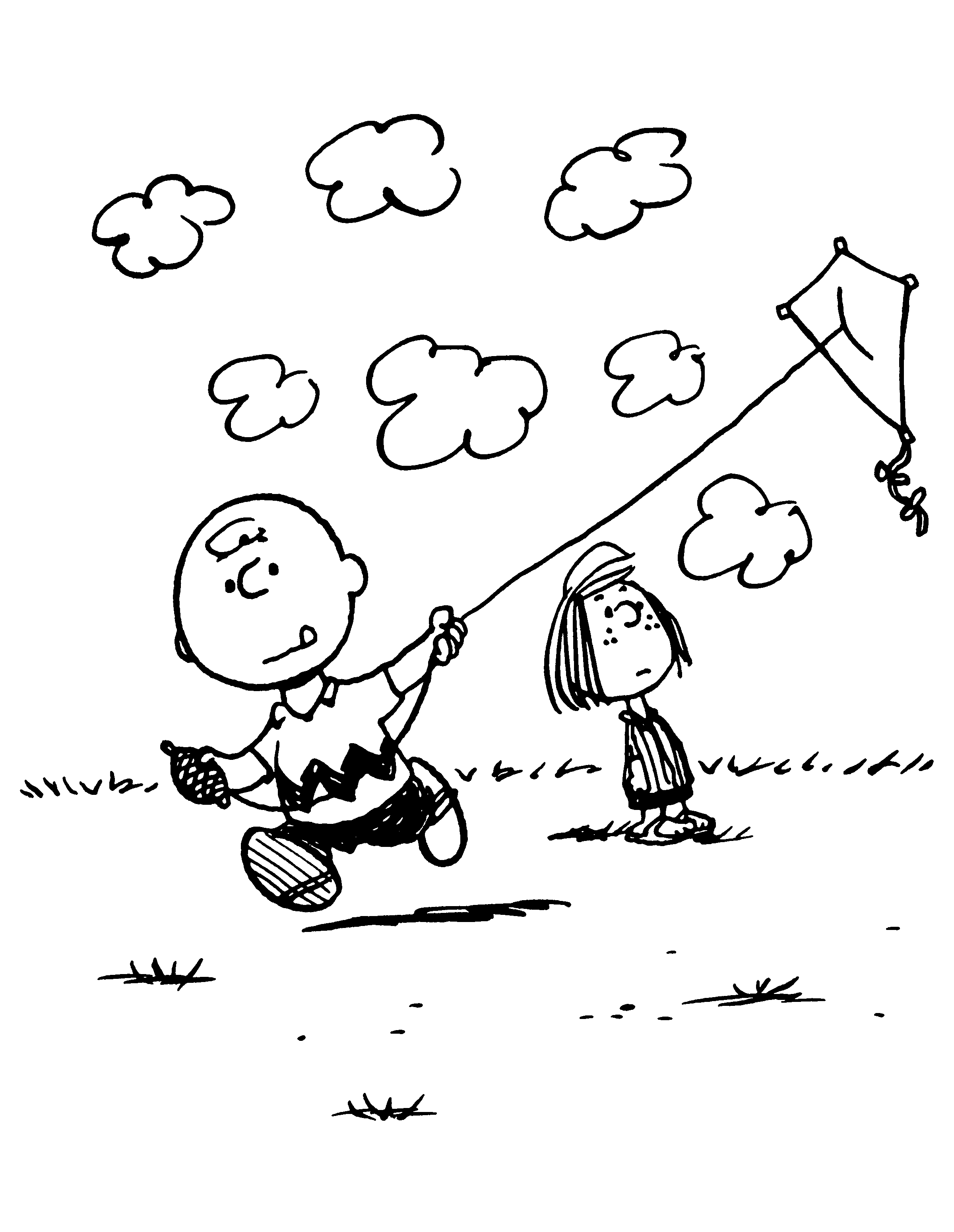 Pin Op Charles M Schulz Coloring Book