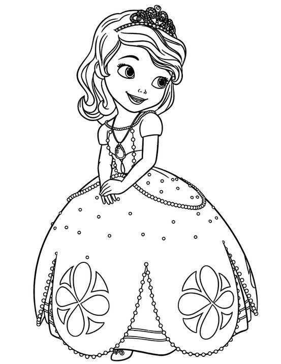 Princess Sofia Disney Kleurboek Prinses Kleurplaatjes Kleurplaten
