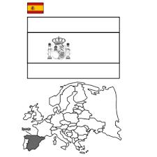 Afbeeldingsresultaat Voor Kleurplaat Duitsland In 2020 Spanje Vlaggen Vlag